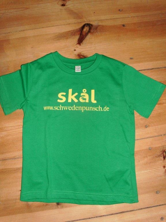 Schwedenpunsch-Shirt grün